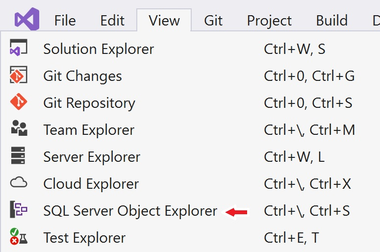 connect to azure sql database from visual studio 2019